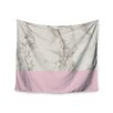 "KESS InHouse ""Marble And Pink Block"" by Suzanne Carter Wall Tapestry"