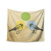 "KESS InHouse ""Green"" by Sreetama Ray Wall Tapestry"