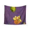 KESS InHouse Owl Balloon by Carina Povarchik Wall Tapestry