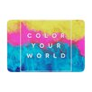 KESS InHouse Color Your World by Galaxy Eyes Bath Mat