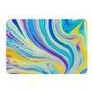 KESS InHouse Rainbow Swirl by Ingrid Beddoes Bath Mat