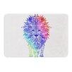 KESS InHouse Rainbow Lion by Monika Strigel Bath Mat
