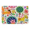 KESS InHouse Woodland Critters by Jane Smith Bath Mat