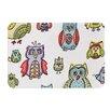 KESS InHouse Owls by Brienne Jepkema Bath Mat