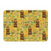 KESS InHouse Surfing Tiki by Jane Smith Bath Mat