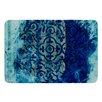 KESS InHouse Mosaic in Cyan by Frederic Levy-Hadida Bath Mat