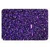 KESS InHouse Purple Dots by Maynard Logan Bath Mat