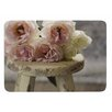 KESS InHouse Roses on Stool by Cristina Mitchell Bath Mat