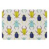 KESS InHouse Beetles by Laurie Baars Bath Mat