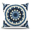 KESS InHouse Ribbon Mandala by Laura Nicholson Outdoor Throw Pillow