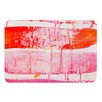 KESS InHouse Coral Paint Wash by Iris Lehnhardt Bath Mat