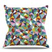 KESS InHouse Abstraction by Project M Outdoor Throw Pillow