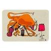 KESS InHouse Playful Octopus by Marianna Tankelevich Bath Mat