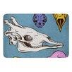 KESS InHouse Skulls by Sophy Tuttle Bath Mat