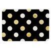 KESS InHouse Golden Dots by KESS InHouse Bath Mat