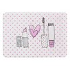 KESS InHouse Girls Luv by MaJoBV Bath Mat