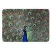 KESS InHouse Peacock of Stunning Features by Qing Ji Bath Mat