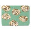 KESS InHouse Scallop Shells by Rosie Brown Bath Mat