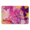 KESS InHouse Dissolved Flowers by Louise Machado Bath Mat