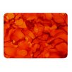 KESS InHouse Orange by Claire Day Bath Mat
