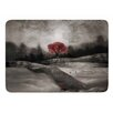 KESS InHouse The Red Sounds And Poems 1 by Viviana Gonzalez Bath Mat