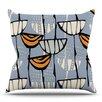 KESS InHouse Eden by Gill Eggleston Outdoor Throw Pillow