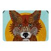 KESS InHouse Colored Fox by Art Love Passion Bath Mat