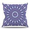 KESS InHouse Kaleidoscope by Iris Lehnhardt Outdoor Throw Pillow