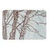 KESS InHouse Winter Trees by Sam Posnick Bath Mat