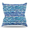 KESS InHouse The High Sea by Pom Graphic Design Outdoor Throw Pillow
