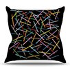 KESS InHouse Sprinkles by Project M Outdoor Throw Pillow