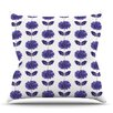 KESS InHouse Gerbera by Laura Escalante Outdoor Throw Pillow