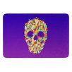 KESS InHouse Jelly Skull by Roberlan Bath Mat