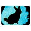 KESS InHouse Moon Bunny by Theresa Giolzetti Bath Mat