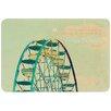 KESS InHouse Ferris Wheel by Robin Dickinson Bath Mat