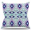 KESS InHouse Gems by Pom Graphic Design Outdoor Throw Pillow