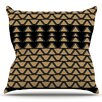 KESS InHouse Deco Angles by Nina May Outdoor Throw Pillow