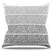 KESS InHouse Riverside Pebbles by Pom Graphic Design Outdoor Throw Pillow