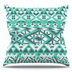 KESS InHouse Tribal Simplicity by Pom Graphic Design Outdoor Throw Pillow