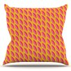 KESS InHouse Seed Pods by Michelle Drew Outdoor Throw Pillow