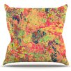 KESS InHouse Time For Bubbly by Ebi Emporium Outdoor Throw Pillow