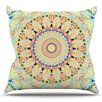 KESS InHouse Flourish by Iris Lehnhardt Outdoor Throw Pillow