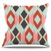 KESS InHouse Triangle Weave by Pellerina Design Outdoor Throw Pillow