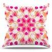 KESS InHouse Batik Mandala by Iris Lehnhardt Outdoor Throw Pillow