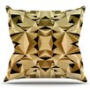 KESS InHouse Abstraction by Nika Martinez Outdoor Throw Pillow