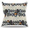 KESS InHouse Benin by Gill Eggleston Outdoor Throw Pillow