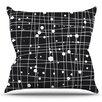 KESS InHouse Woven Web by Budi Kwan Outdoor Throw Pillow