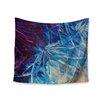 KESS InHouse Night Flowers by Ebi Emporium Wall Tapestry