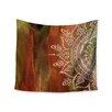 KESS InHouse Autumn Mandala by Li Zamperini Wall Tapestry