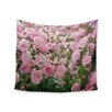 "KESS InHouse ""The Fairy Rose"" by Sylvia Cook Wall Tapestry"